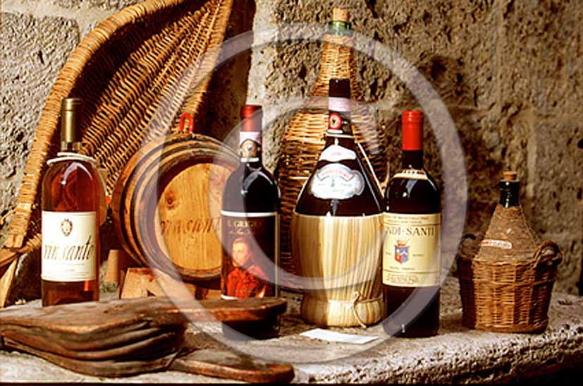 1997 - Typical tuscan red wine, aromatic wine