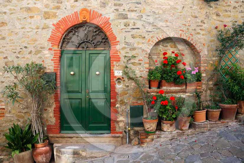 2011- Traditional tuscan door.